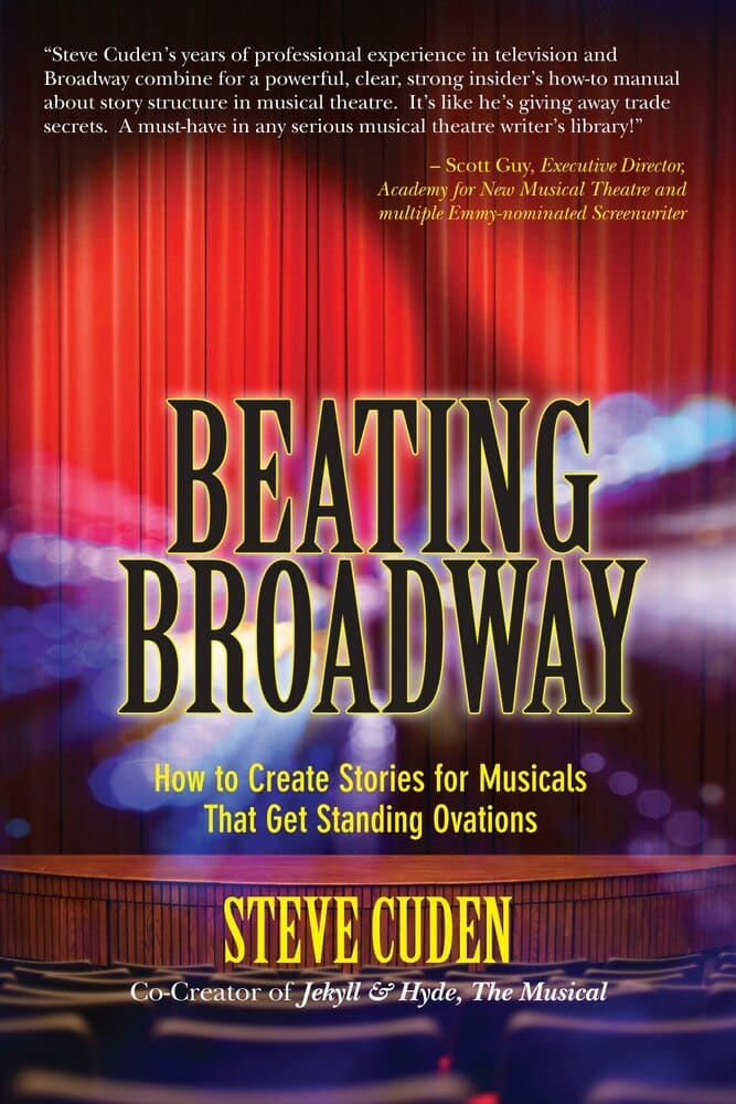 Beating Broadway front cover