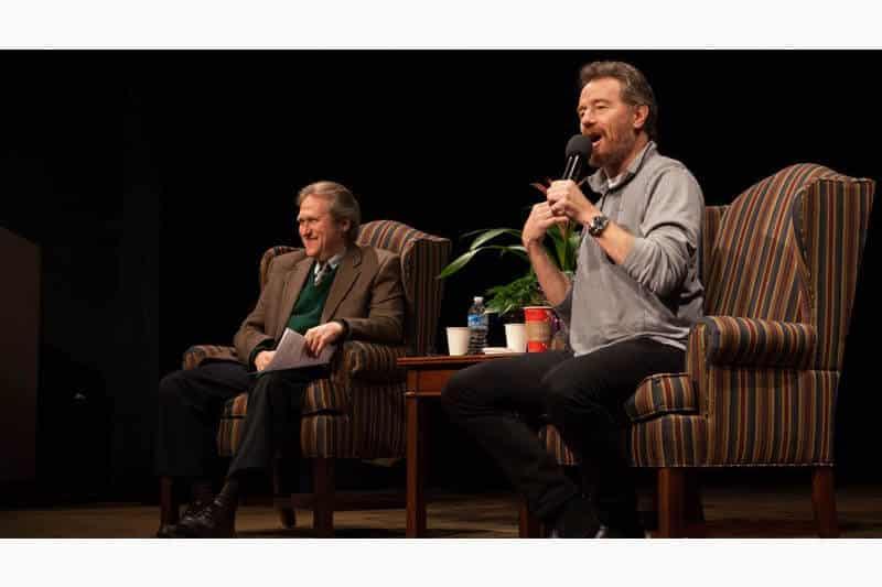 Steve Cuden and Bryan Cranston