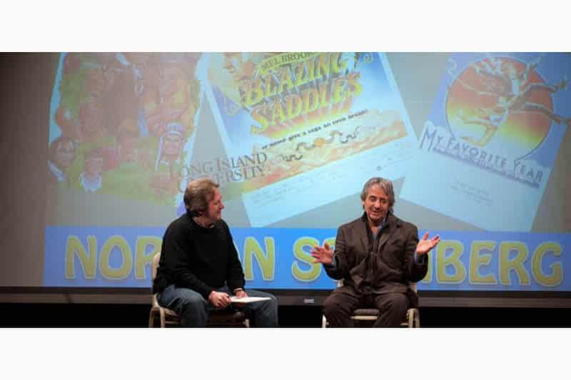 Steve Cuden interviewing Norman Steinberg