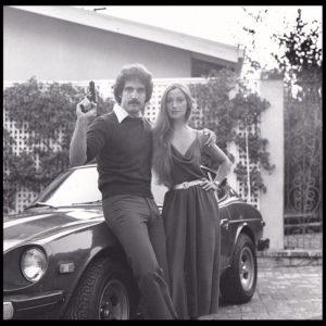 Steven Jay Rubin and Jane Seymour